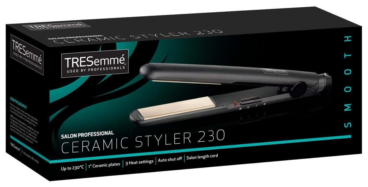 Tresemme Salon Professional 2066U Ceramic Styler Review package