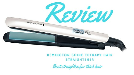 remington shine therapy hair straightener review