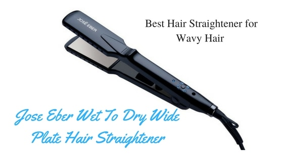 Jose Eber Wet To Dry Wide Plate Hair Straightener