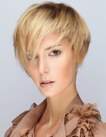 Styles you can learn with your straighteners short hair pic