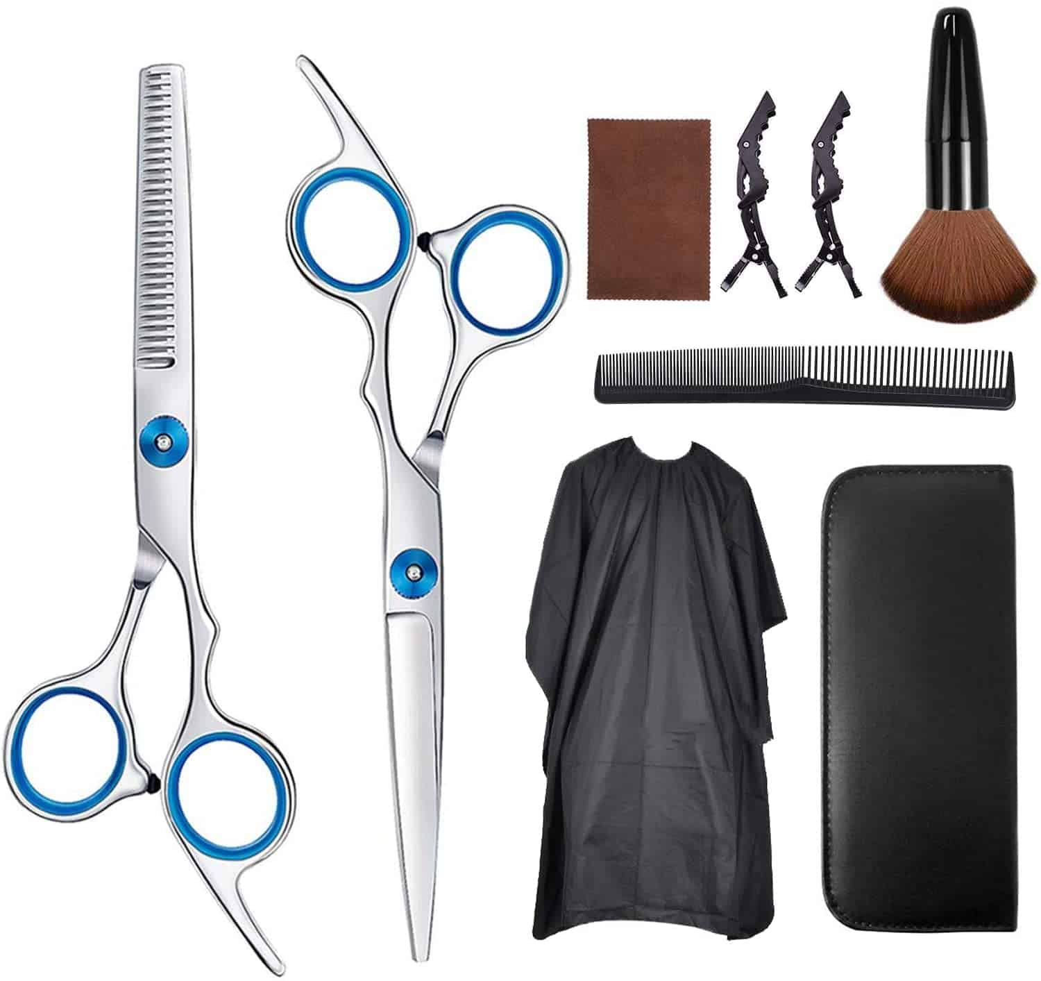 hairdresser scissors set hair