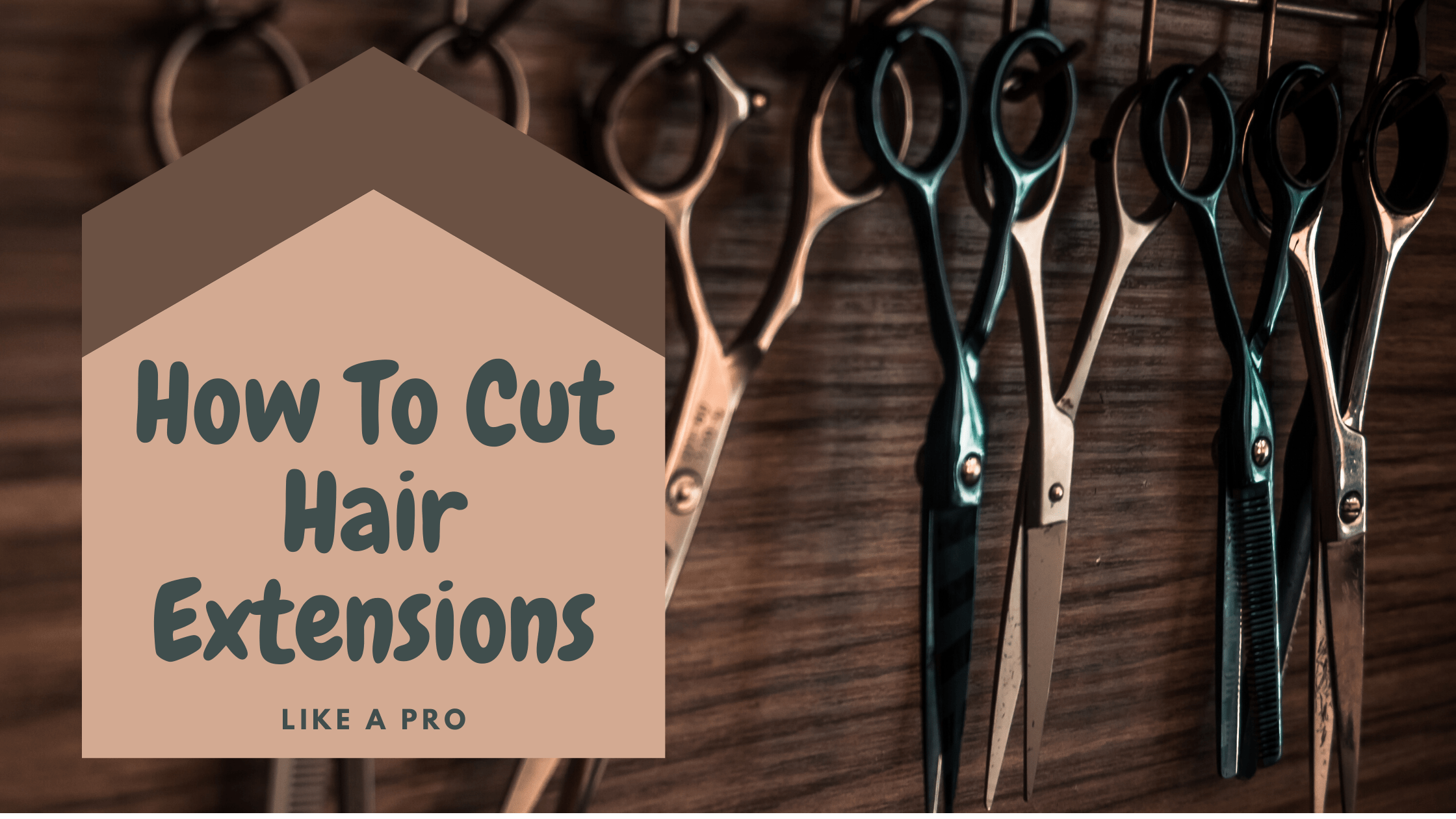 How To Cut Hair Extensions