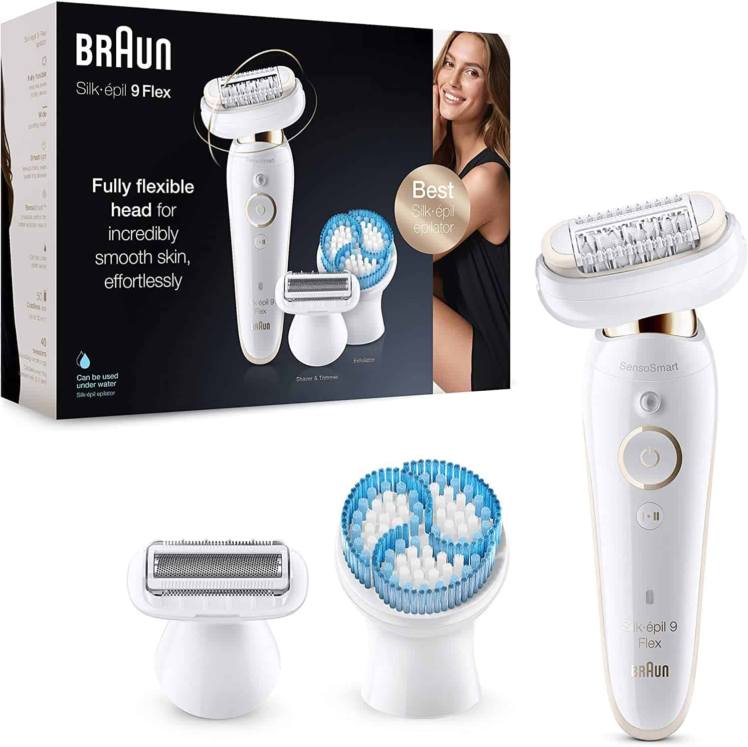 Braun Silk Epilator anti slip