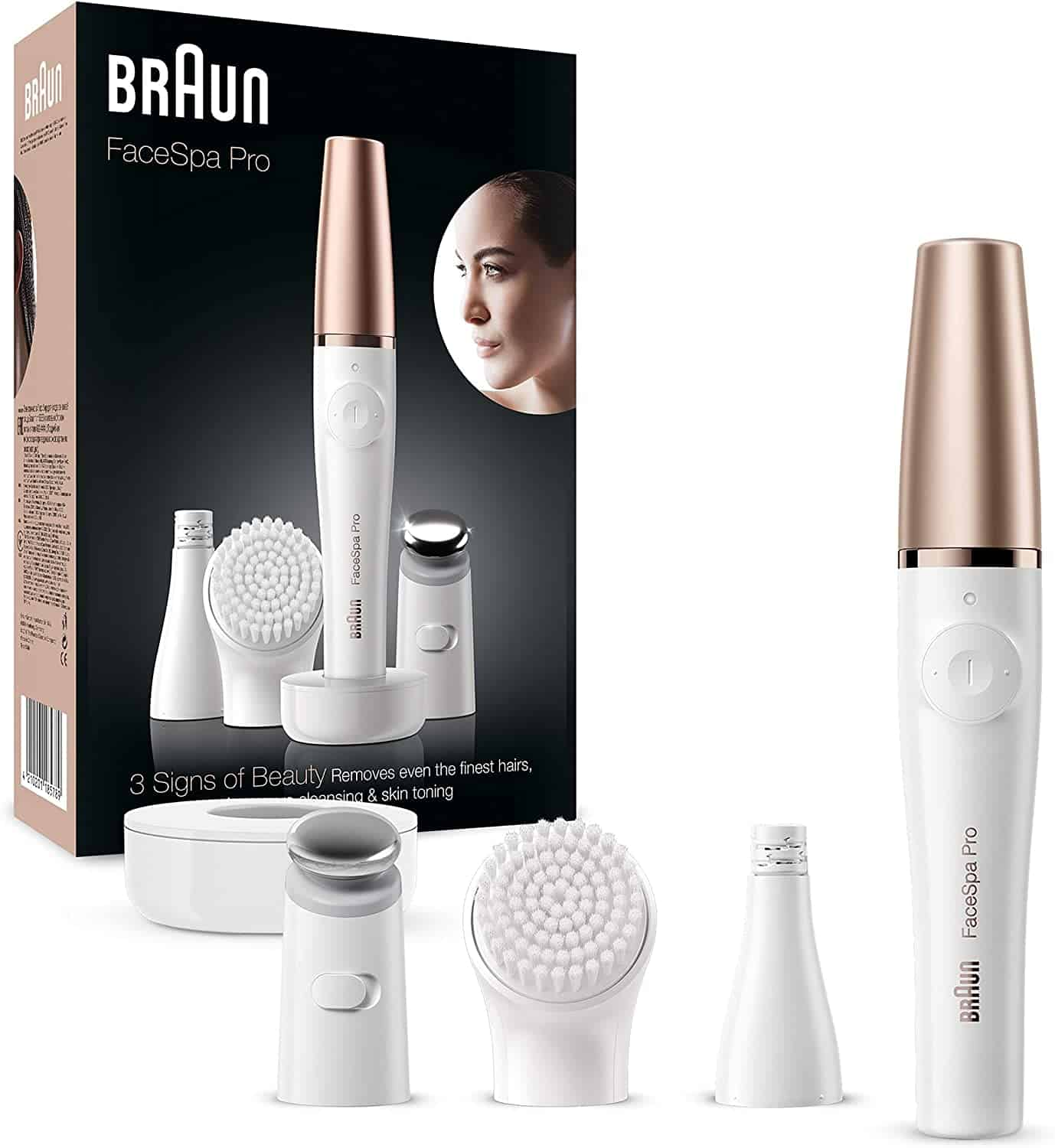 Braun epilator cleansing
