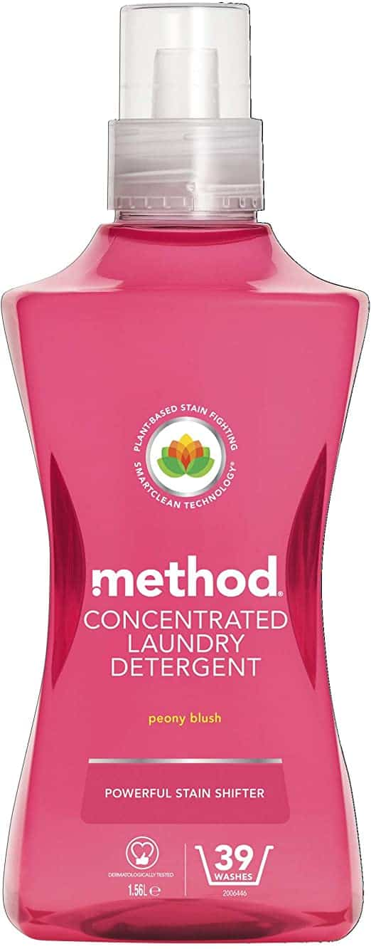 METHOD CONCENTRATED DETERGENT